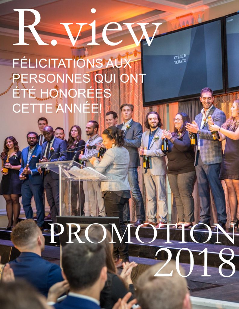 couverture du magazine R.View 2018
